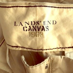 Lands End Canvas authentic fit khakis. Sz 14